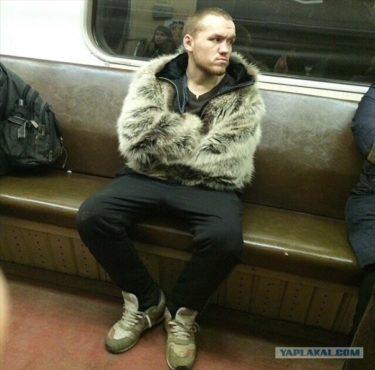 まだまだいたおしゃれ上級者達!サンクト・ペテルブルクの地下鉄の乗客その2