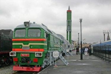 ソ連時代にアメリカを苛立たせたミサイル列車が復活?