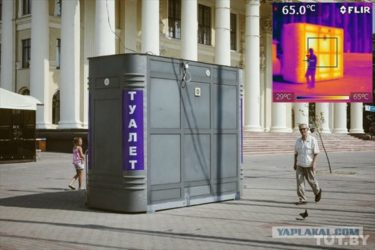 北国も夏は暑い!!サーモグラフィーを通して見るベラルーシの首都ミンスク