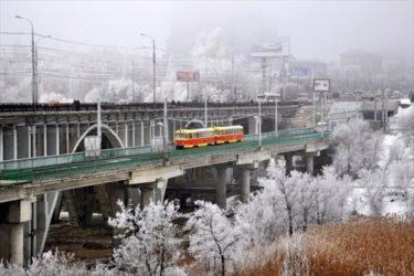 ロシアやウクライナで2014年に撮影された路面電車やトロリーバスの写真