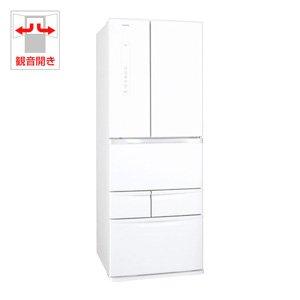 東芝 510L 6ドア冷蔵庫(シェルホワイト)TOSHIBA VEGETA ベジータ GR-F51FS-WS