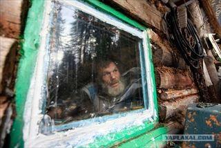 シベリアの仙人の隠遁生活