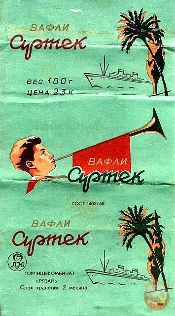 ソ連時代のお菓子の包み紙のデザインが素晴らしい!お菓子の思い出とともに紹介します!!