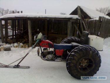 長い冬に飽きたロシア人が車を作った
