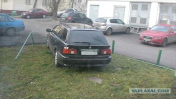 ロシアの違法駐車への対応がおそロシア