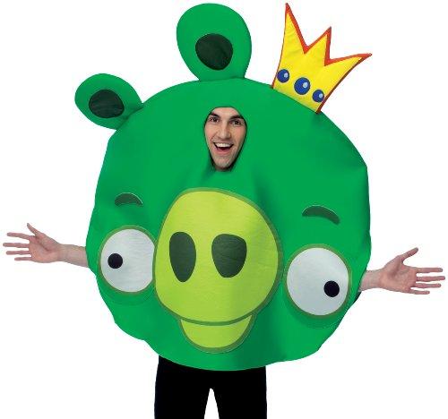 Rovio Angry Birds - King Pig Adult Costume Rovioの怒りの鳥 - キング豚大人用コスチューム♪ハロウィン♪サイズ:One-Size (Standard)