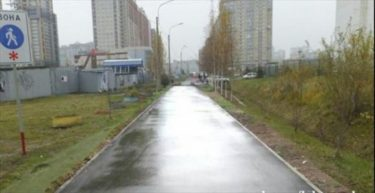 ロシアの自治体は道をPhotoshopで直した
