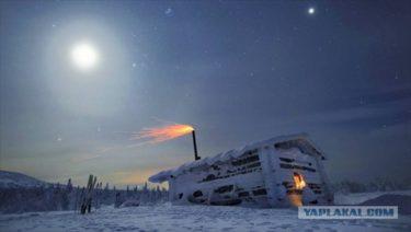 ウラル山脈の厳しい冬の美しい写真