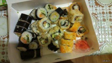 ウクライナの「スシヤ」と言う名の出前が得意な寿司屋