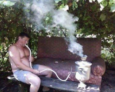 ロシアの伝統湯沸し器「サモワール」の斬新な使い方
