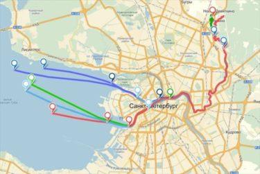 トイレにGPSを流してペテルブルクの下水がどのようなルートをたどるか調べるてみた