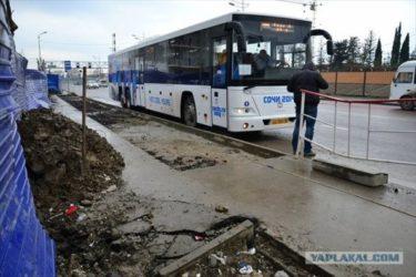 ソチオリンピック開幕15日前、ソチの状態がひどすぎる