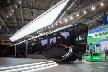 ロシアの新しいトラムヴァーイ(路面電車)が近未来的デザインでかっこいい!!