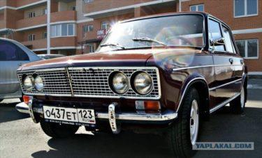 おじいさんからもらったチェリー色の馬 ロシアの車VAZ-2103