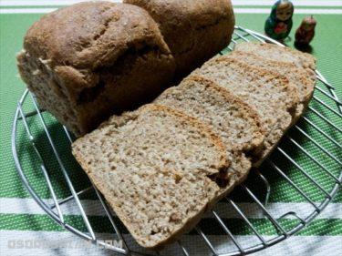 パンから作るロシアの飲み物クワスを作ってそのクワスからパンを作った
