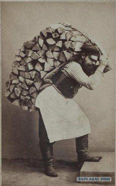 ロシア帝国時代の一般の人々の様子を写した写真