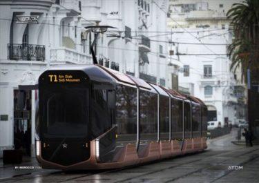 ロシアの近未来的デザインでかっこいい新型路面電車の量産タイプが発表