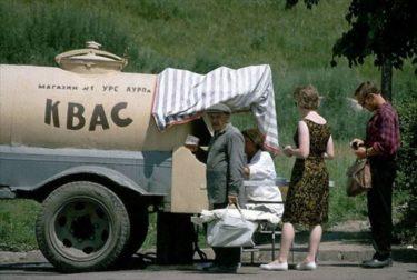 樽の中の伝説的な飲み物、ソ連のクワス