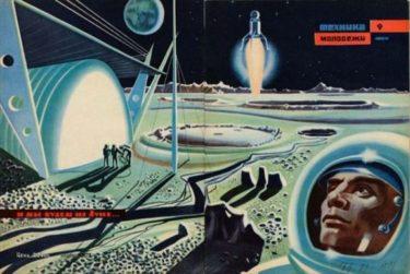 ソ連が崩壊しなければ実現していた?ソ連時代の宇宙開発の想像図