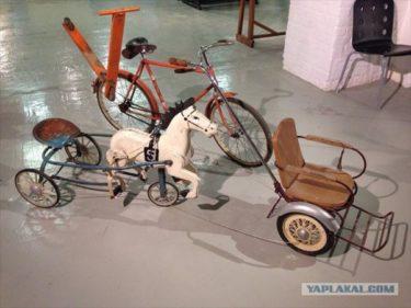 モスクワ博物館の展示会、「ソ連の幼年時代」の様子