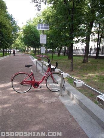 これでどこにでも行ける!モスクワでレンタル自転車を借りる方法