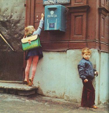 30年前のリガの様子を写した写真