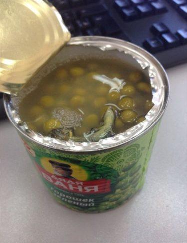 おそロシア!『ワーニャ伯父さん』のグリンピース缶を開けたら中から・・・