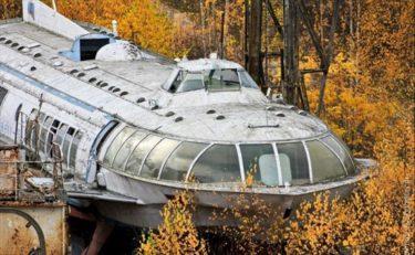 ソ連時代に開発された最大時速70キロで走る水中翼船