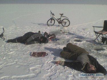 寝たら死ぬぞ!ロシアの冬の釣りおそロシア