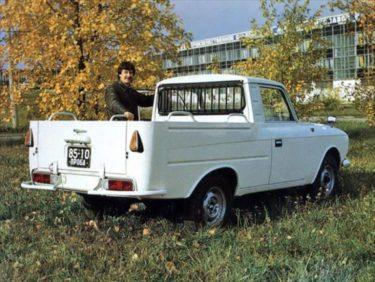 一般には出回らなかった不良品から作られたソ連製ピックアップトラック