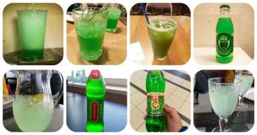 どぎつい緑のタルフンなどのロシアオリジナル炭酸飲料が美味しいから飲みまくってきた