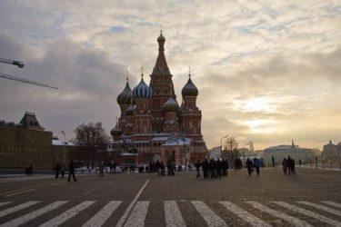 ロシア人「モスクワの元旦を歩いてみた」